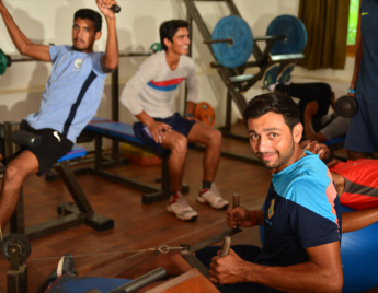 Gym in Kunkhet Valley Resort